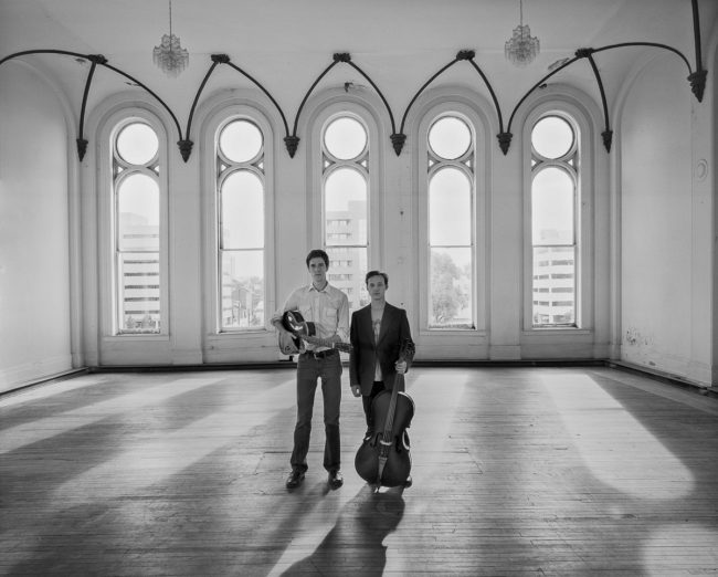 Daniel Martin Moore, Ben Sollee by Guy Mendes