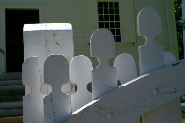 Fencing, Shakertown at Pleasant Hill, KY by Guy Mendes