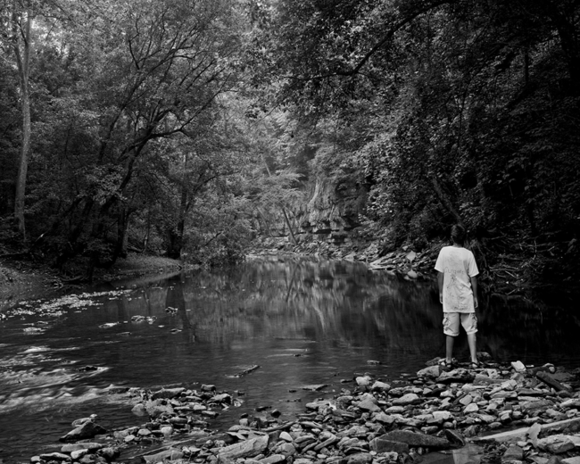 Zach Lower Howards Creek by Guy Mendes